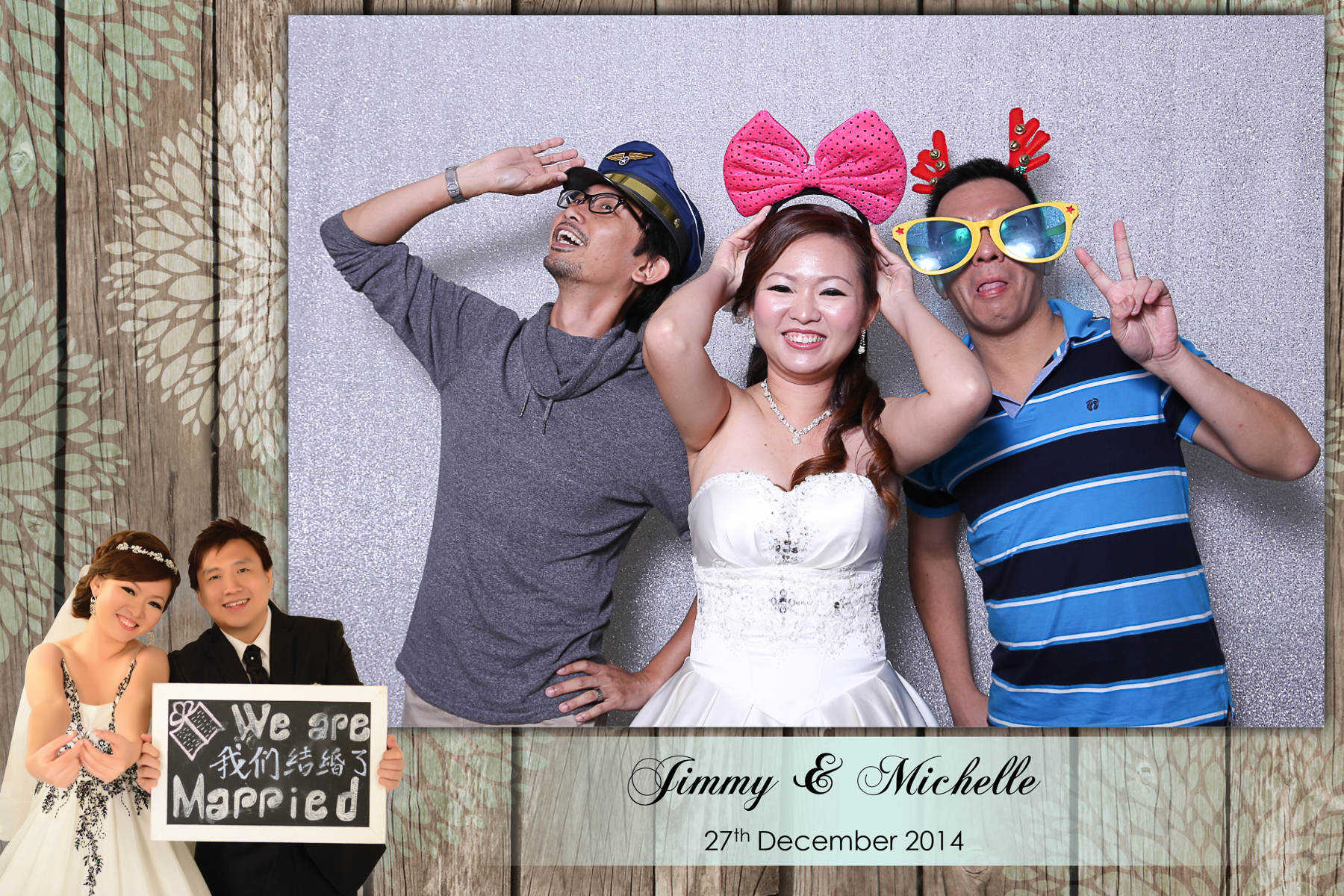 20141227 Jimmy & Michelle