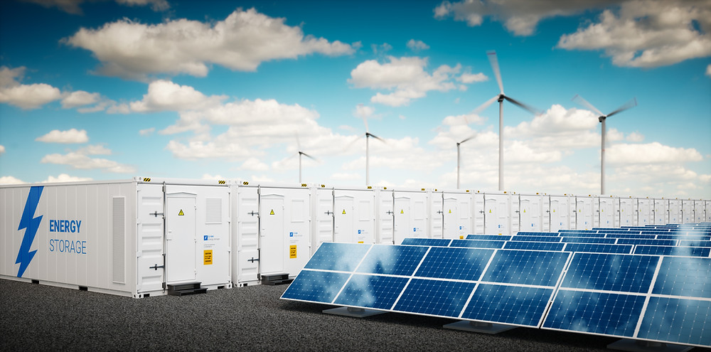Stationary Grid-Scale Energy Storage System