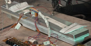 NASA ISS SAFER test battery. NASA Photo.