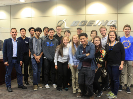 UCLA AIChE Student Chapter Visit To Boeing-SDC