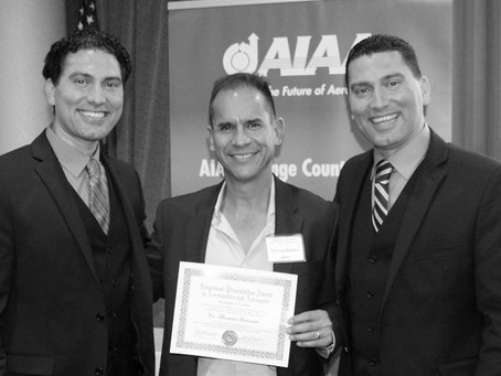 Tom awarded Best Paper at the AIAA OC ASAT Conference