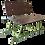 Thumbnail: Сиденье складное высокое в сани волокуши