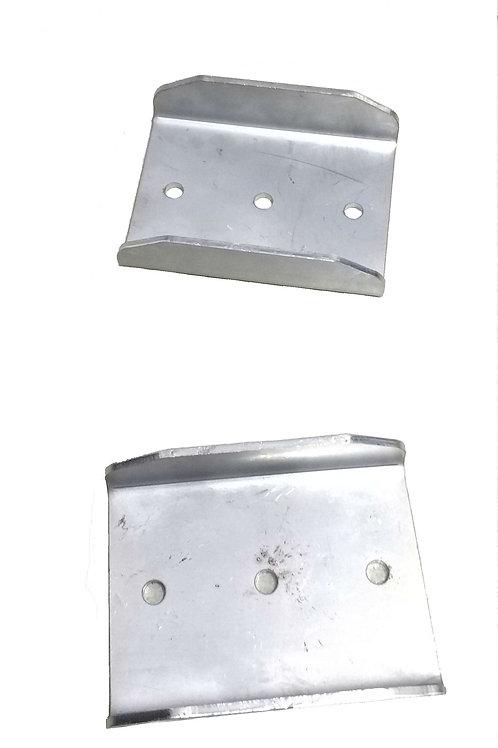 Коньки-подрезы стоп-занос для саней волокуш (пара)