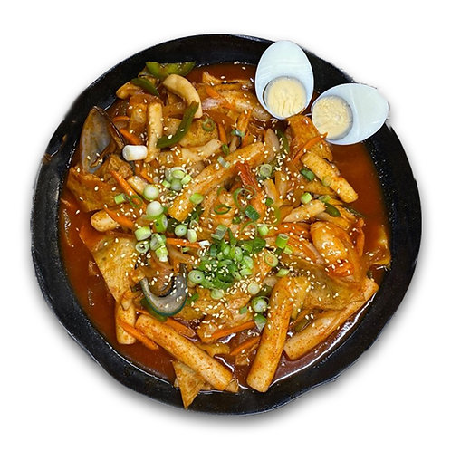 Seafood Tteokbokki Rice Cake