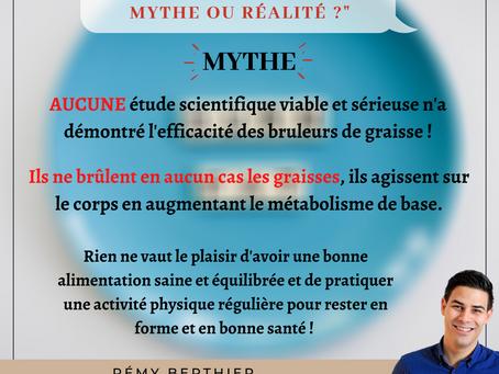 Les brûleurs de graisses, mythe ou réalité ?