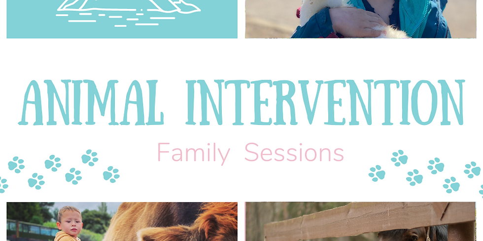 Family Animal Intervention Session