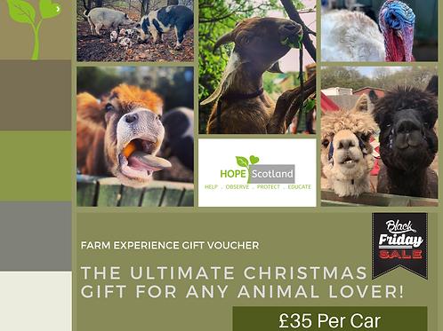 Farm Experience Gift Voucher