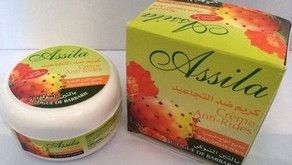 Available now: anti aging cream with preakly pear seed oil!
