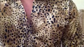 Modern Leopard Gandoura for Sale