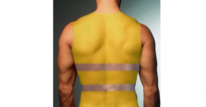 promo gilets jaunes massage pour hommes soins du visage homme