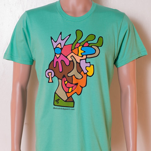 Mens - T-shirt - Genghis