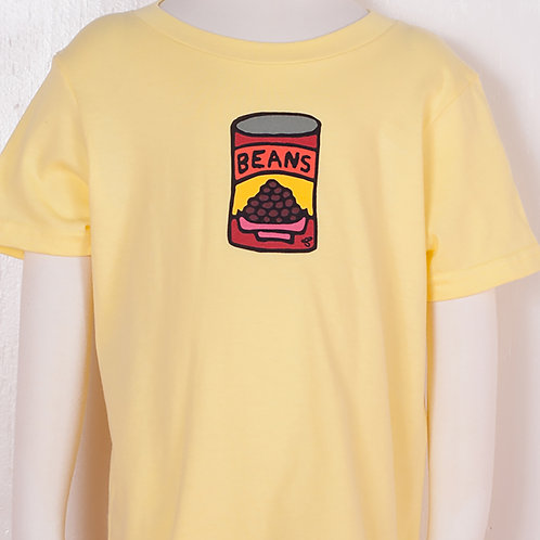 Kids - T-shirt - Light Yellow