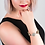 Thumbnail: Dalmatian Jasper Crystal Charm Bracelet