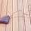 Thumbnail: Pink Crystal Mountain WA Stone Necklace