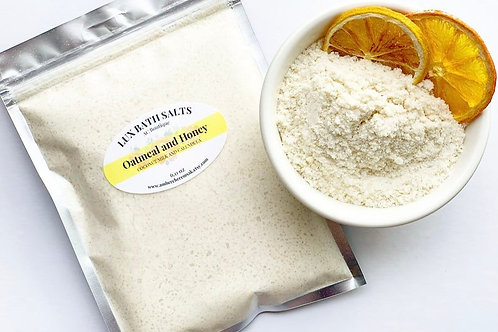 Oatmeal and Honey Lux Bath Salts