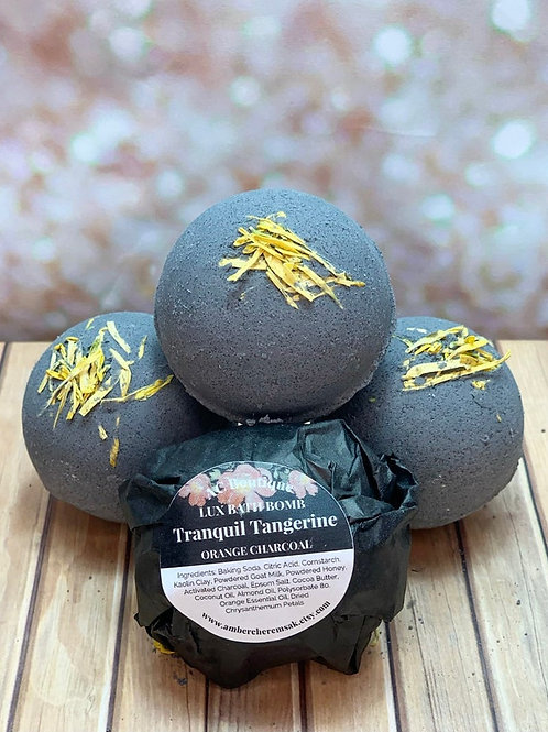 Tranquil Tangerine Lux Bath Bombs (3 Pack)