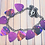 Thumbnail: Pink Purple Hand Cut Guitar Pick Necklace