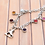 Thumbnail: Figure Skating Charm Bracelet