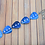 Thumbnail: Blue Guitar Pick Necklace/Choker