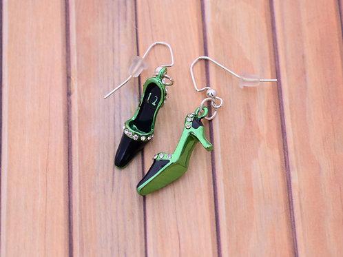 Seahawks Shoe Earrings
