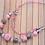 Thumbnail: Pink Beaded Necklace