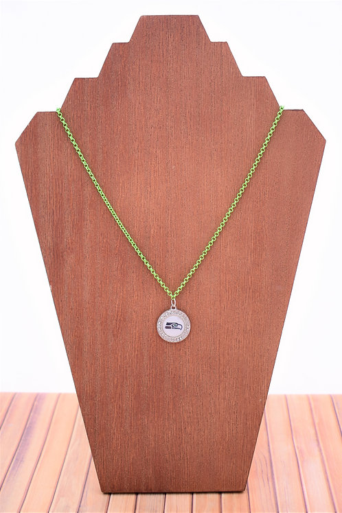 Seahawks Pendant (Green Chain)