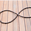 Thumbnail: Black and Bronze Bullet Necklace