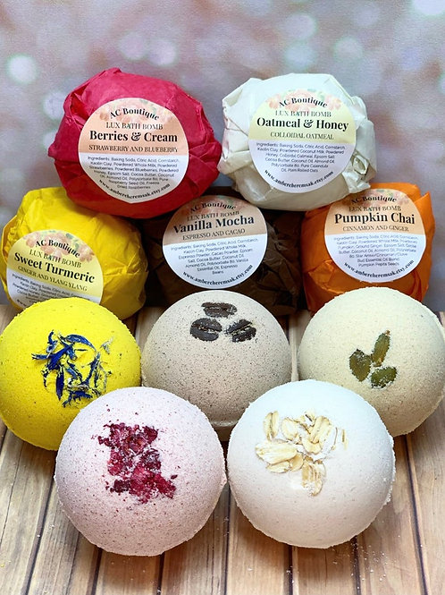 5 Pack Lux Bath Bomb Variety Box