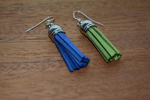 Seahawk Tassel Earrings