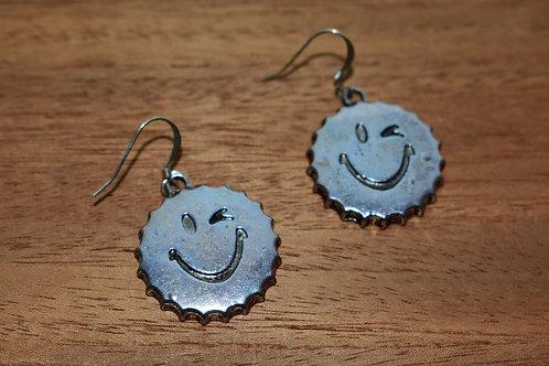 Smiley Cap Earrings