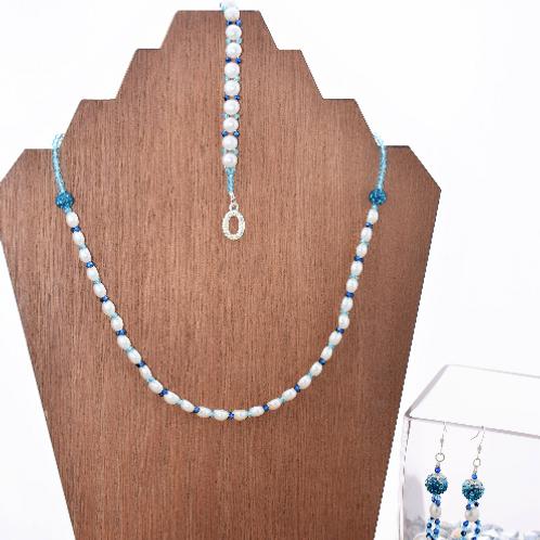 Princess Cinderella Inspired Necklace Bracelet and Earring Set