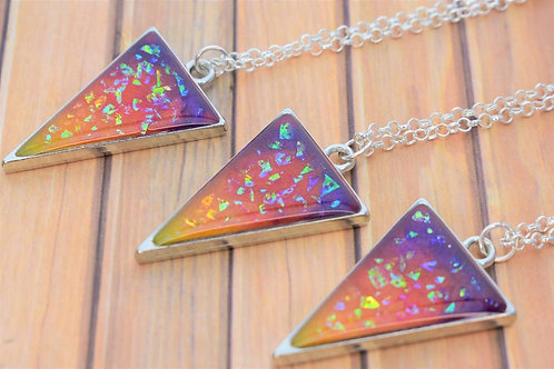 Sunset Resin Necklace