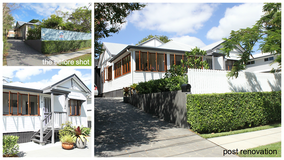 bayside architext portfolio - updating a queenslander
