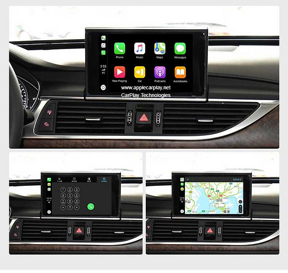 apple carplay audi a7