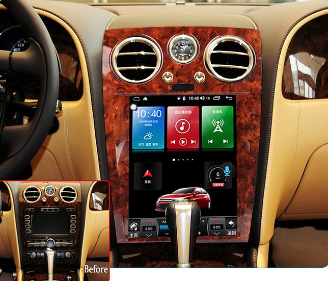 Radio Upgrade For Bentley Flying Spur 2005-2012 AS