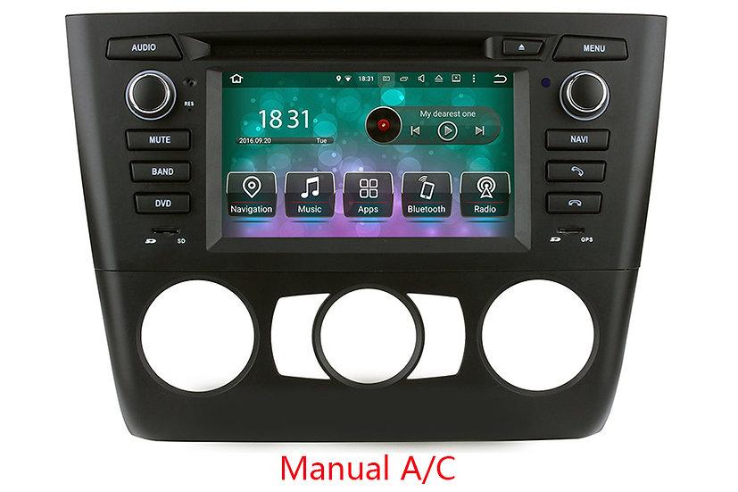 Radio upgrade for BMW 1S E81, E82, E88 2006 - 2012 m/AC