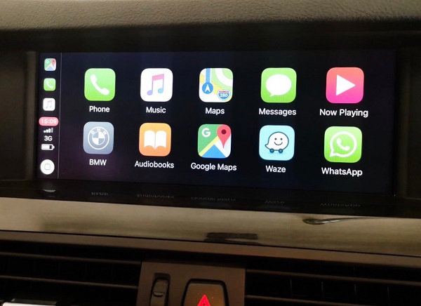 Wireless Apple CarPlay for BMW 5 F11 / F10 2013-2016 NBT