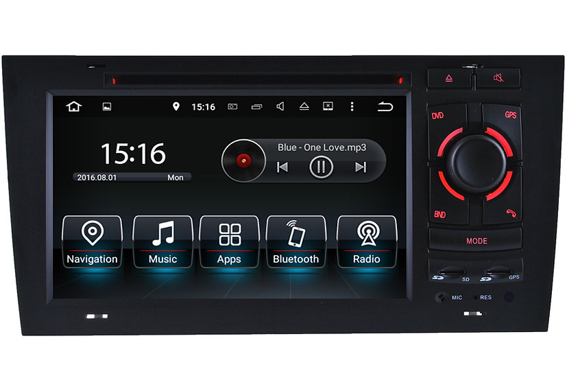 Radio upgrade for Audi A6 C5 1997 - 2004