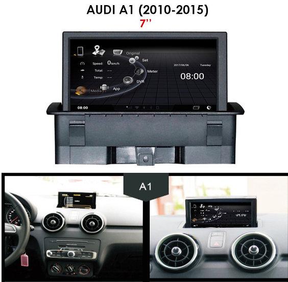 Audi A1 head unit