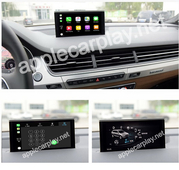 CarPlay interface for Audi Q7 2016 - 2018