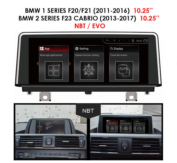Android 9.0 MT for BMW 1 series 2011-2017 F20/F21