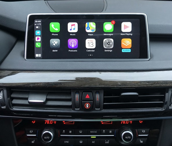 Apple CarPlay for BMW M6