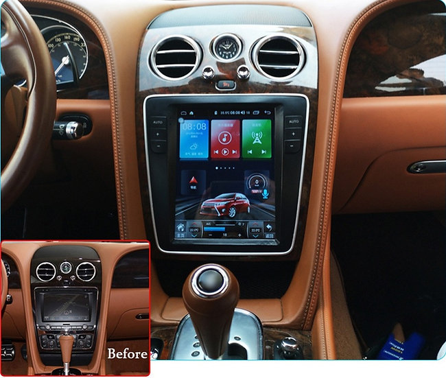 Radio Upgrade For Bentley Flying Spur 2013-2019