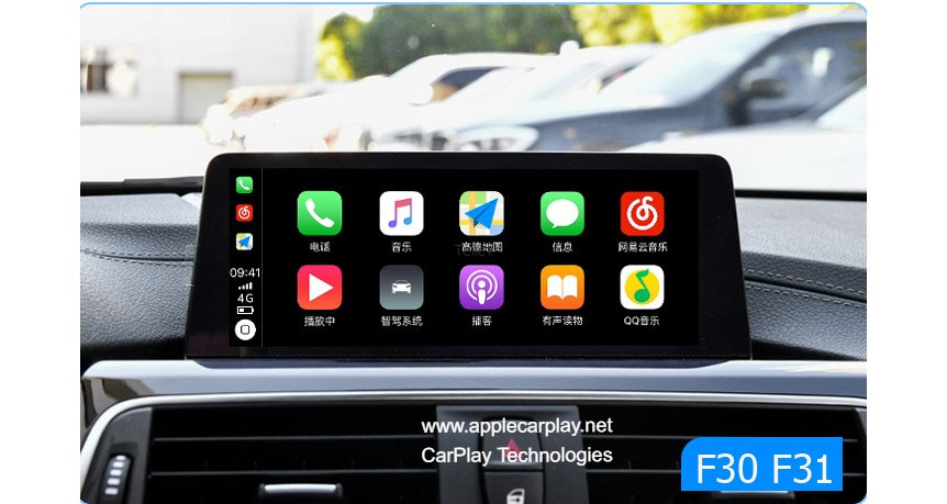 apple carplay bmw f30,f31