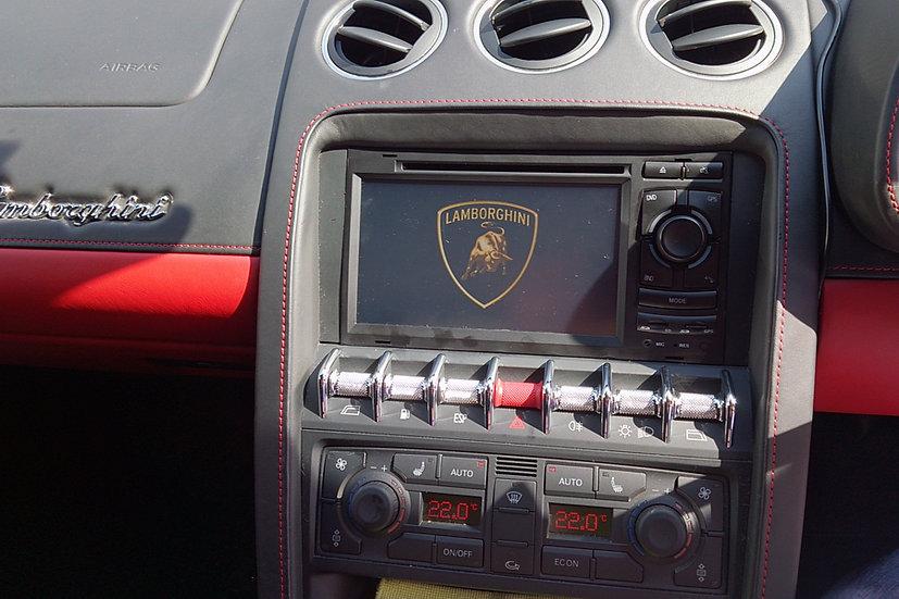 radio upgrade Lamborghini