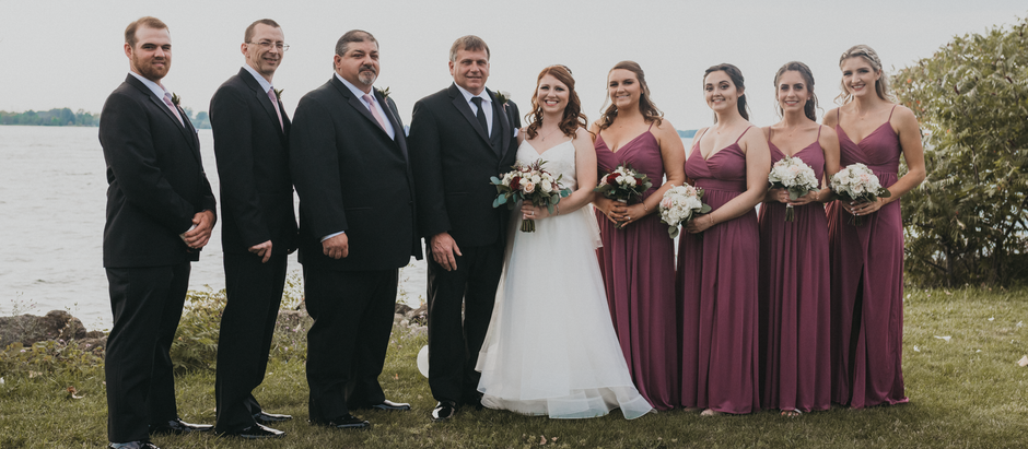 Ashley & Tony - 9.21.2019 Wedding Day, Acqua Banquets, Buffalo, NY
