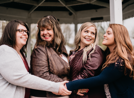 Lydia, Hona, Nicole & Heather - 5.4.2019 - Family Portrait Session, Lewiston, NY