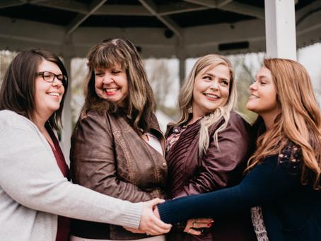Lydia, Hona, Nicole & Heather - 5.4.2019 - Family Portrait Session, Lewiston, NY