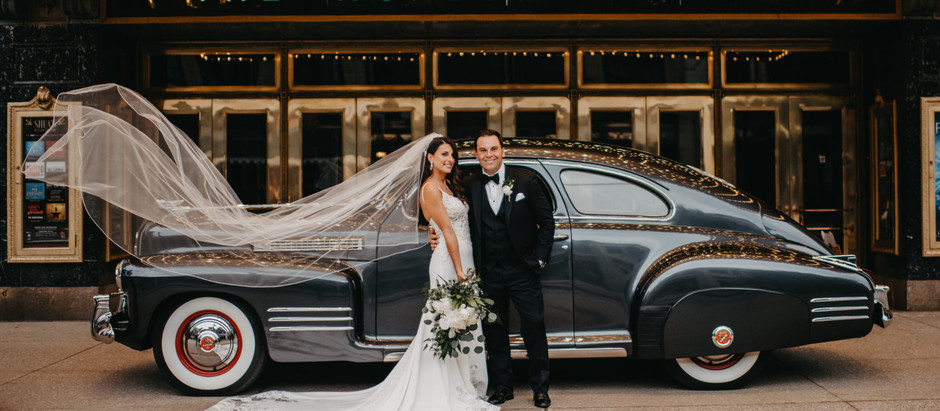 Downtown Buffalo, NY Classic Glam Wedding at 500 Pearl - Jeanette & Chris 6.25.2021