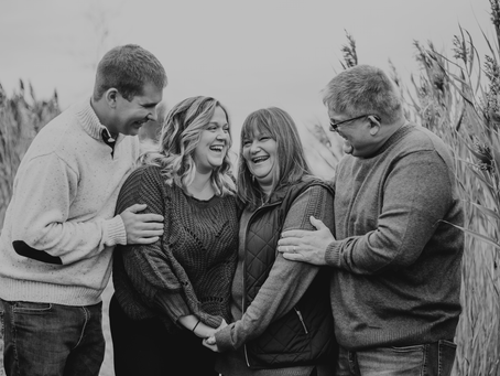 Jess, Kevin, Kelly and Tim 11.2.2019 - Family Photo Session, Tifft Nature Preserve - Buffalo, NY